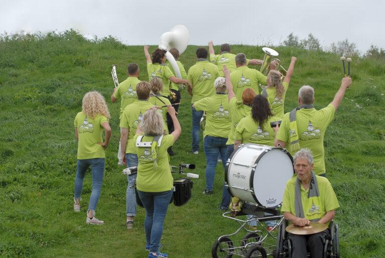 groepsfoto 13 dweilorkest joure Jouster Skomkoppen